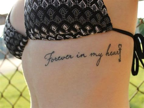 tattoo on ribs aftercare 25 best ideas about rib tattoos words on pinterest