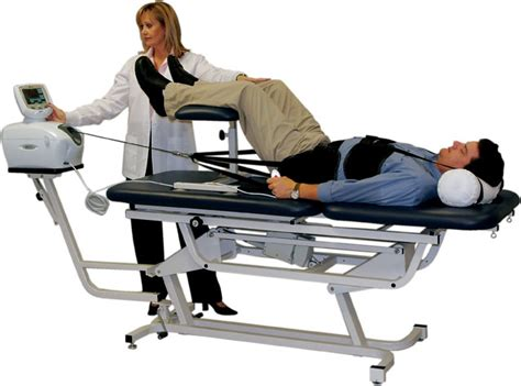 traction table for back healthy chirocare