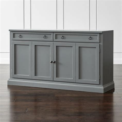 Design My Kitchen Cabinets by Cameo 62 Quot Grey Modular Media Console Crate And Barrel
