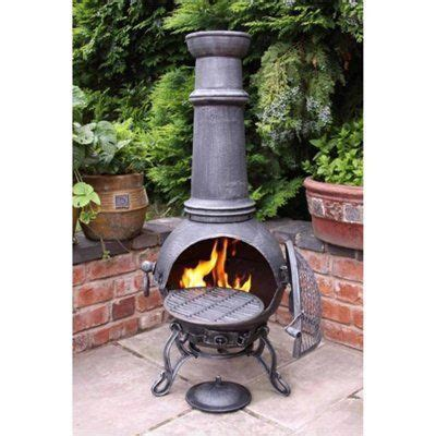 chiminea for screen porch can be vented out roof with