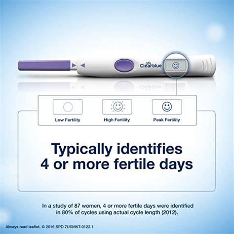 wann clearblue ovulationstest machen clearblue advanced digital ovulation predictor kit