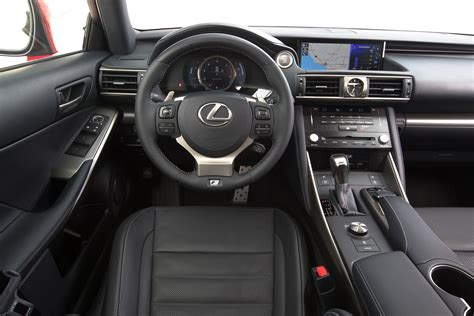 lexus is300 2017 interior 2017 lexus is 200t test review motor trend