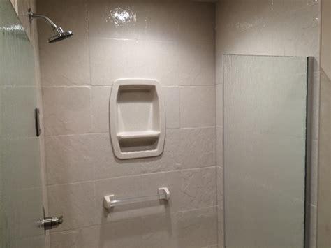 marcus lumber installed onyx showers