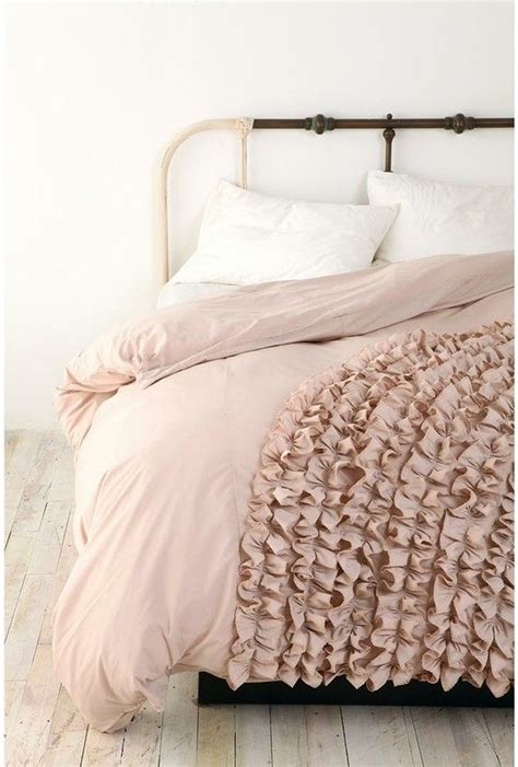 Frilly Comforters by Ruffled Bedding For The Home