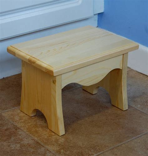childrens step stool designs children s step stool plans pine furniture homebase