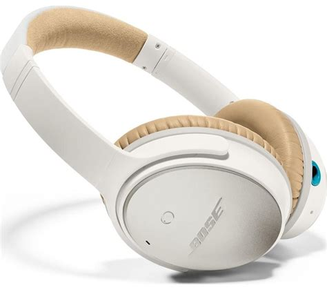 Headphone Bose Quietcomfort 25 buy bose quietcomfort 25 noise cancelling headphones white free delivery currys