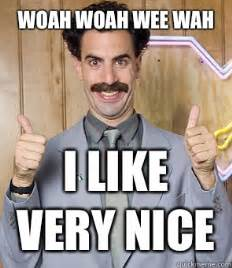 Borat Meme - borat very nice meme memes