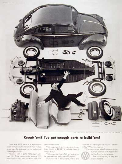 volkswagen beetle spare parts 1960 vw beetle spare parts classic vintage print ad