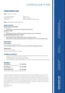 Cv Format Template by Cv Formats Amp Notes New Latest Cv Format 2013 Simple Cv Format