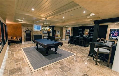 70 home basement design ideas for masculine retreats