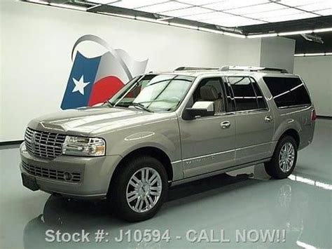 how cars run 2008 lincoln navigator l navigation system sell used 2008 lincoln navigator l sunroof nav rear cam dvd 68k texas direct auto in stafford