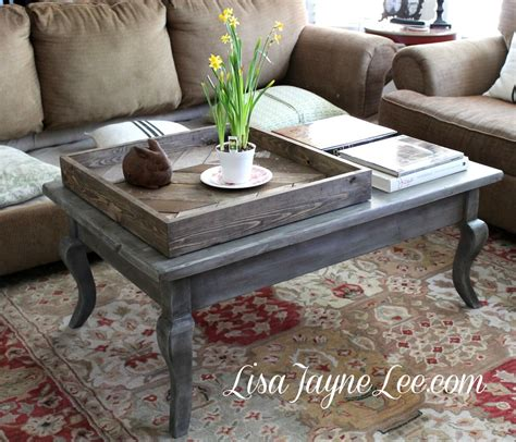 grey wood stain table grey wood stain coffee table makeover starting with
