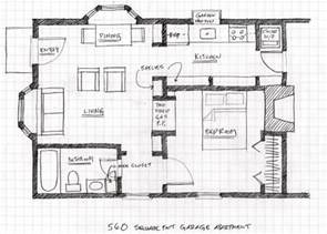 small scale homes floor plans for garage to apartment