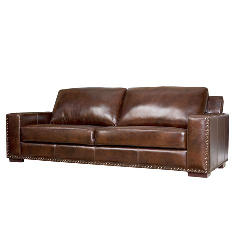 Cushions For Brown Leather Sofa Furniture Brown Distressed Leather Sofa With 2 Seat And Leather Cushions Plus Lighting For