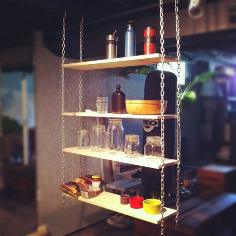 Suspended Shelf by Chain Suspended Shelving Craftbnb