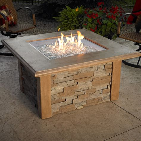 Outdoor Gas Firepits Pits Fireplace Patio