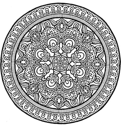 mystical mandala coloring pages free doodles coloring pages on dover publications