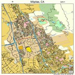 map of milpitas california milpitas california map 0647766