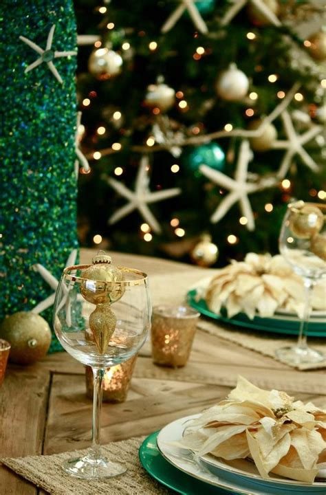 images of christmas dinner party coastal christmas dinner party diy table setting pinterest