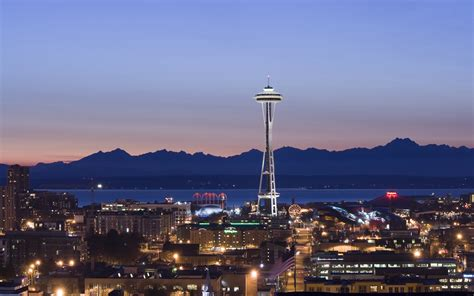 seattle space needle wallpaper 120016
