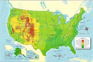 Usa Physical Map by United States Physical Map Images