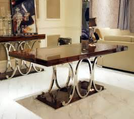 What Kind Of Fabric For Dining Room Chairs - marble top rectangular modern dining table and chairs luxury high quality dining room set buy