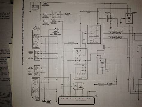 vt commodore headlight wiring diagram efcaviation