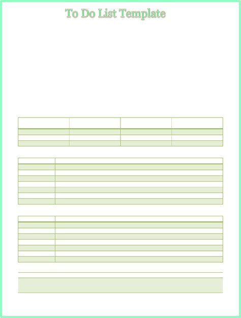 priority list template multi task to do priority list template for free