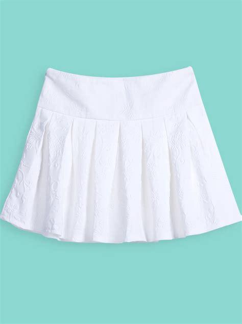 Whita Skirt pleated white skirt dress ala