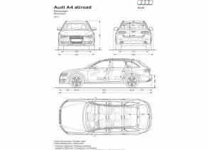Audi Dimensions Audi A4 Allroad Hd Wallpapers The World Of Audi