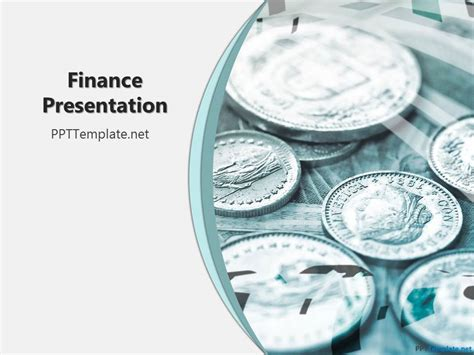 free financial ppt template