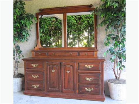 bedroom hutch solid wood kroehler vintage dresser credenza hutch bedroom