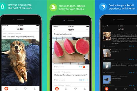 reddit android app reddit launches new app for android and ios