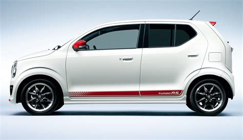 Suzuki Japanese Cars Suzuki Sports Up Its Alto Kei Car With Turbo Rs Version In