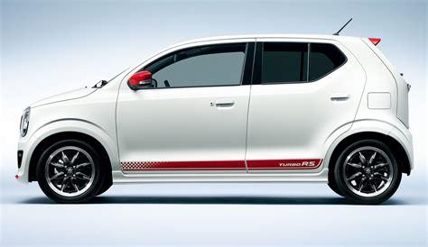 Suzuki Alto Turbo Suzuki Sports Up Its Alto Kei Car With Turbo Rs Version In