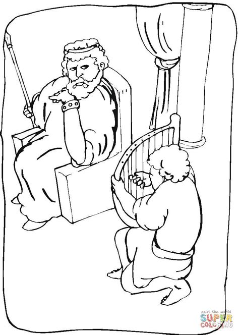 solomon coloring sheet free coloring pages king saul coloring online super coloring