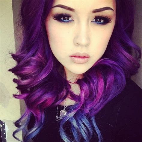 black n purple hair lila haarfarbe f 252 r einen extravaganten look archzine net