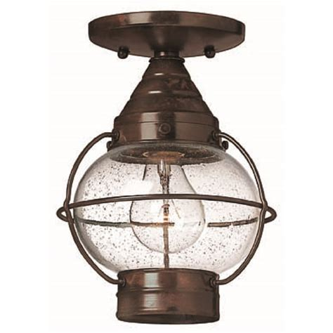 flush fitting outdoor ceiling light weatherproof bronze
