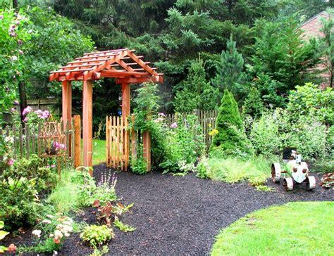 Garden Arbor Houzz Garden Arbor Traditional Landscape Boston By