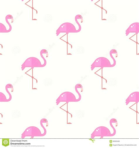 Flamingo Bird Retro Backgroundz flamingo bird background retro seamless pattern in vector