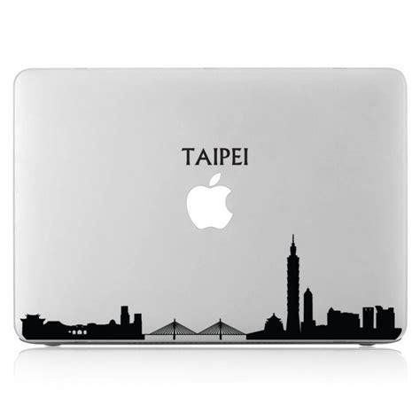 Apple Aufkleber Laptop by Taipei Skyline Laptop Macbook Sticker Aufkleber