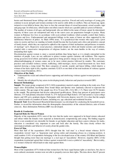 violence against research paper research paper on violence against in pakistan