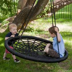 backyard swings swing and spin tree porch swing oh my that s awesome