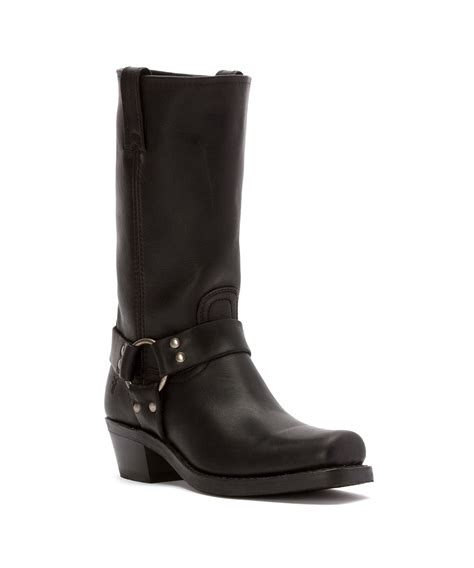 womans frye boots frye s harness 12r boots in black save 11 lyst