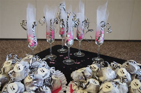 creative wedding shower favors zebra print bridal shower favors diy merry bright