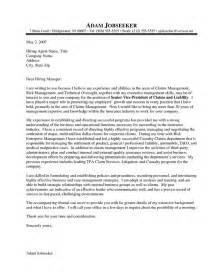 Covering Letter Of Cv by Resume Exle Insurance Executive Exle Of A Cover Letter Exle Of A Cover Letter For