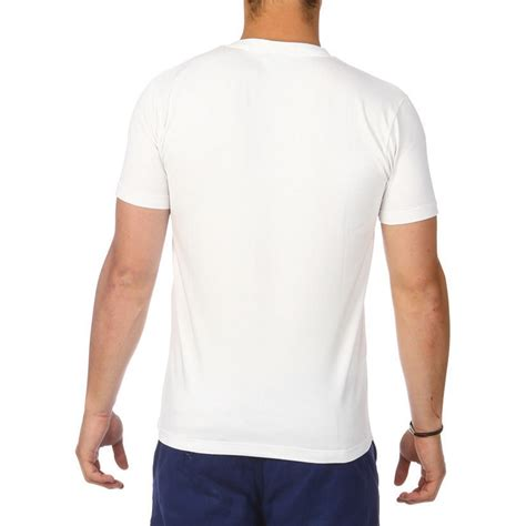 T Dos t shirt basic blanc ruckfield