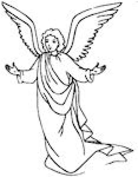 simple angel coloring page angel coloring page christmas simple coloring home