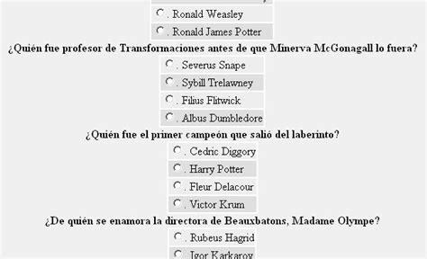 preguntas de penny harry potter harry potter