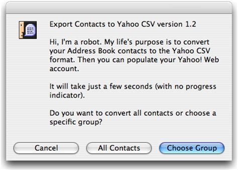 csv format for yahoo contact import export contacts to yahoo csv convert your address book